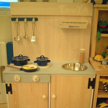 カラーボックスで作るミニキッチン