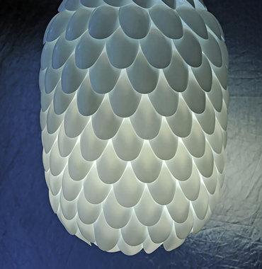 プラスティックスプーンで作るランプ