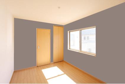 色ある家具を入れるなら<br>ウォームグレー