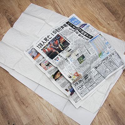用意するもの:大きな紙