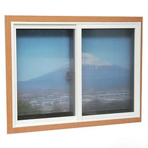 簡易内窓用フレーム&レールキット<br />大きい窓用・ホワイト<br />価格:¥7,910