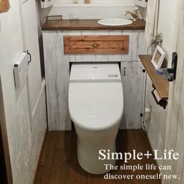 トイレにお洒落な手洗いを設置する