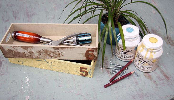 小物のエイジング塗装が楽しい!<br />おすすめ塗料「ミルクペイント」