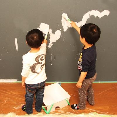 塗装関連の作業工程の画像