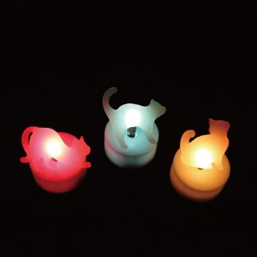 ネコのシルエット LEDライトを作ってみよう!