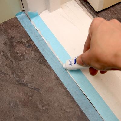 シール材を充填する